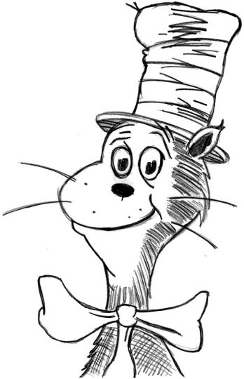 Cat In The Hat Coloring Pages 67