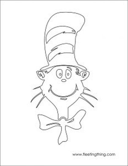 Cat In The Hat Coloring Pages 81