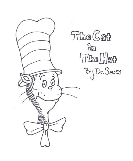 Cat In The Hat Coloring Pages 85
