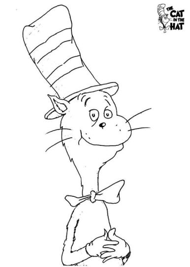 Cat In The Hat Coloring Pages 87
