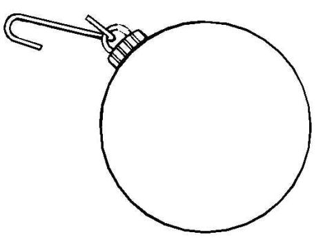 Christmas Ornament Coloring Pages 12