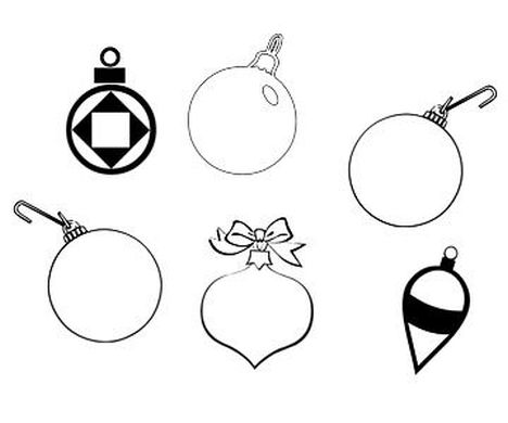 Christmas Ornament Coloring Pages 15