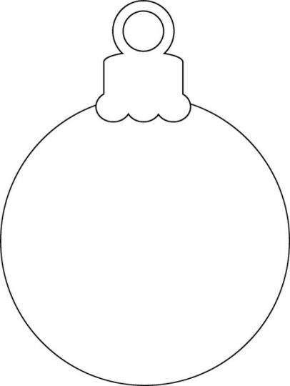 Christmas Ornament Coloring Pages 16