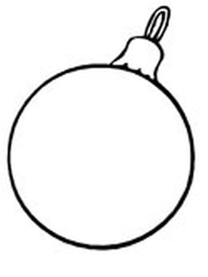 Christmas Ornament Coloring Pages 25