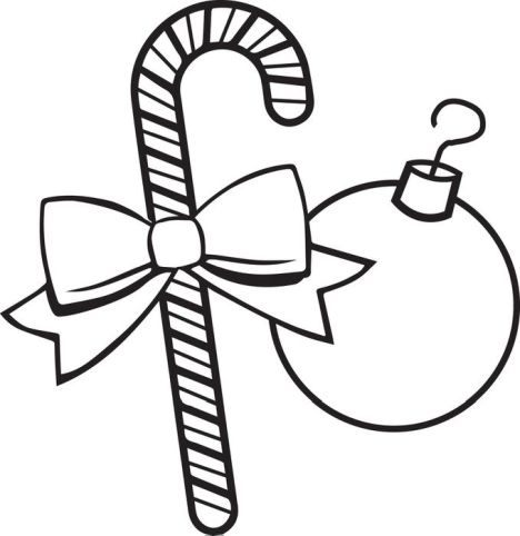 Christmas Ornament Coloring Pages 29