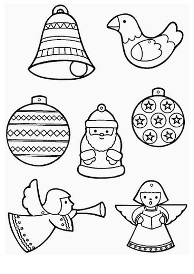 Christmas Ornament Coloring Pages 39