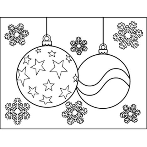 Christmas Ornament Coloring Pages 40