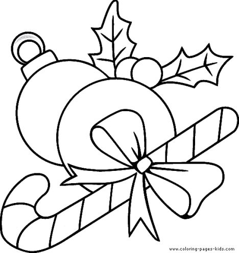 Christmas Ornament Coloring Pages 42