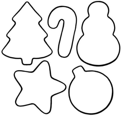 Christmas Ornament Coloring Pages 46