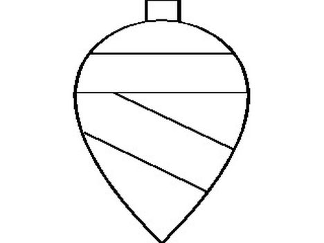 Christmas Ornament Coloring Pages 48