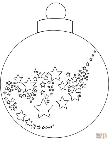 Christmas Ornament Coloring Pages 49