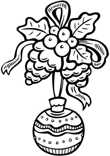 Christmas Ornament Coloring Pages 50