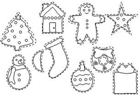 Christmas Ornament Coloring Pages 57