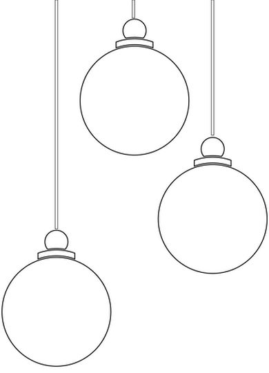 Christmas Ornament Coloring Pages 60