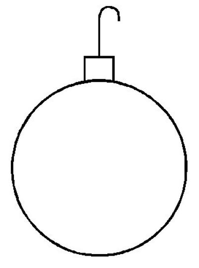 Christmas Ornament Coloring Pages 69