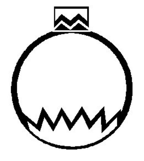 Christmas Ornament Coloring Pages 70