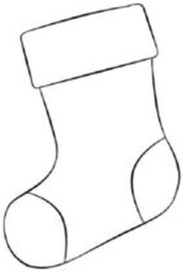 Christmas Stocking Coloring Pages 20