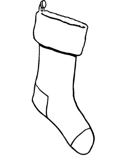 Christmas Stocking Coloring Pages 36