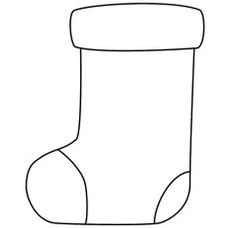 Christmas Stocking Coloring Pages 61