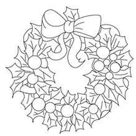 Christmas Wreath Coloring Pages 13
