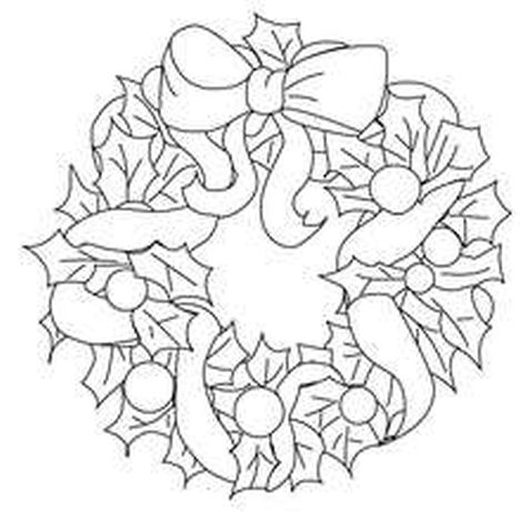 Christmas Wreath Coloring Pages 17
