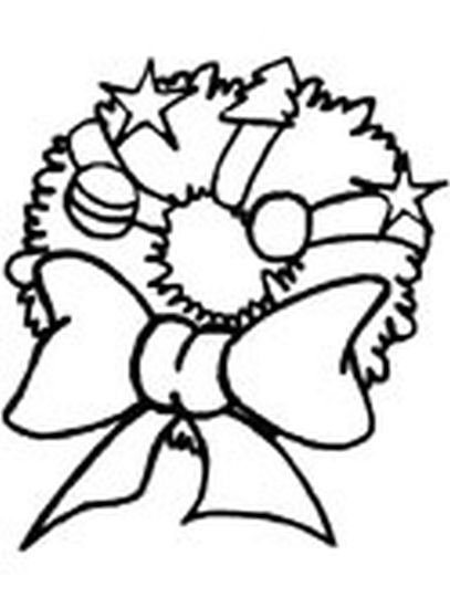 Christmas Wreath Coloring Pages 22