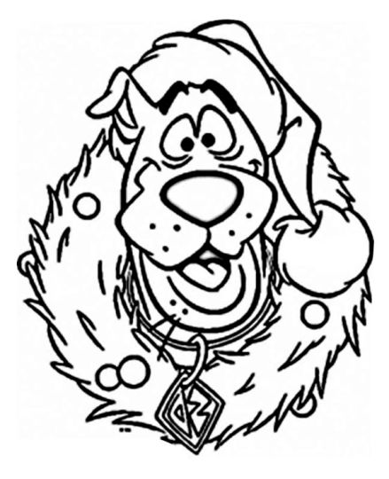 Christmas Wreath Coloring Pages 68