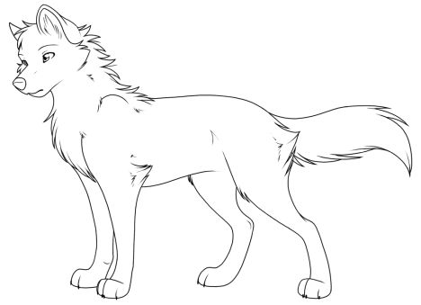 Cute Baby Fox Coloring Pages 6