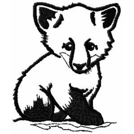 Cute Baby Fox Coloring Pages 9