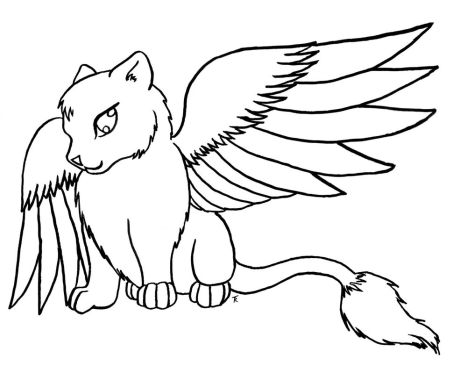 Cute Kitten Coloring Pages 33