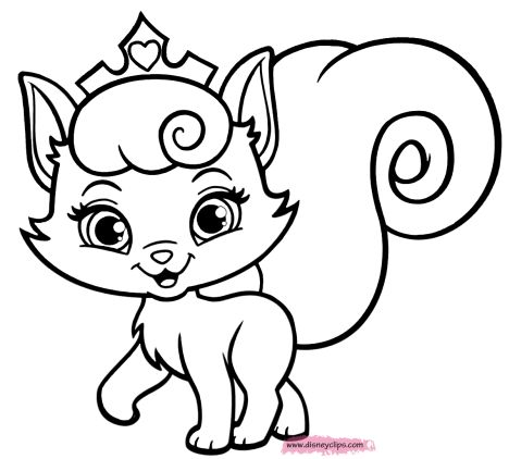 Cute Kitten Coloring Pages 50