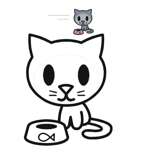 Cute Kitten Coloring Pages 53