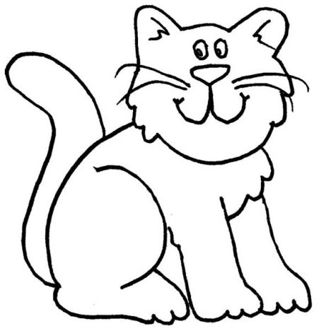 Cute Kitten Coloring Pages Part 8
