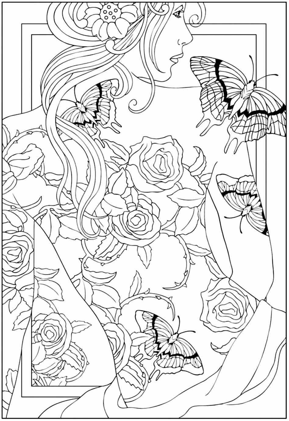 Detailed Landscape Coloring Pages For Adults 20
