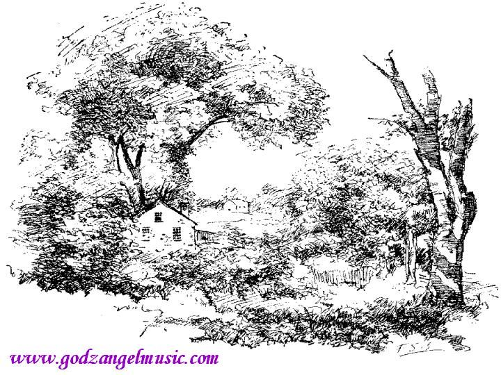 Detailed Landscape Coloring Pages For Adults 22