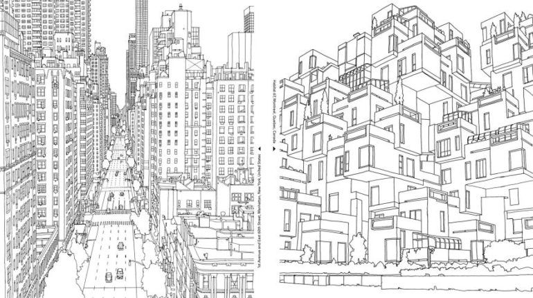 Detailed Landscape Coloring Pages For Adults 26