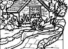 Detailed Landscape Coloring Pages For Adults 28