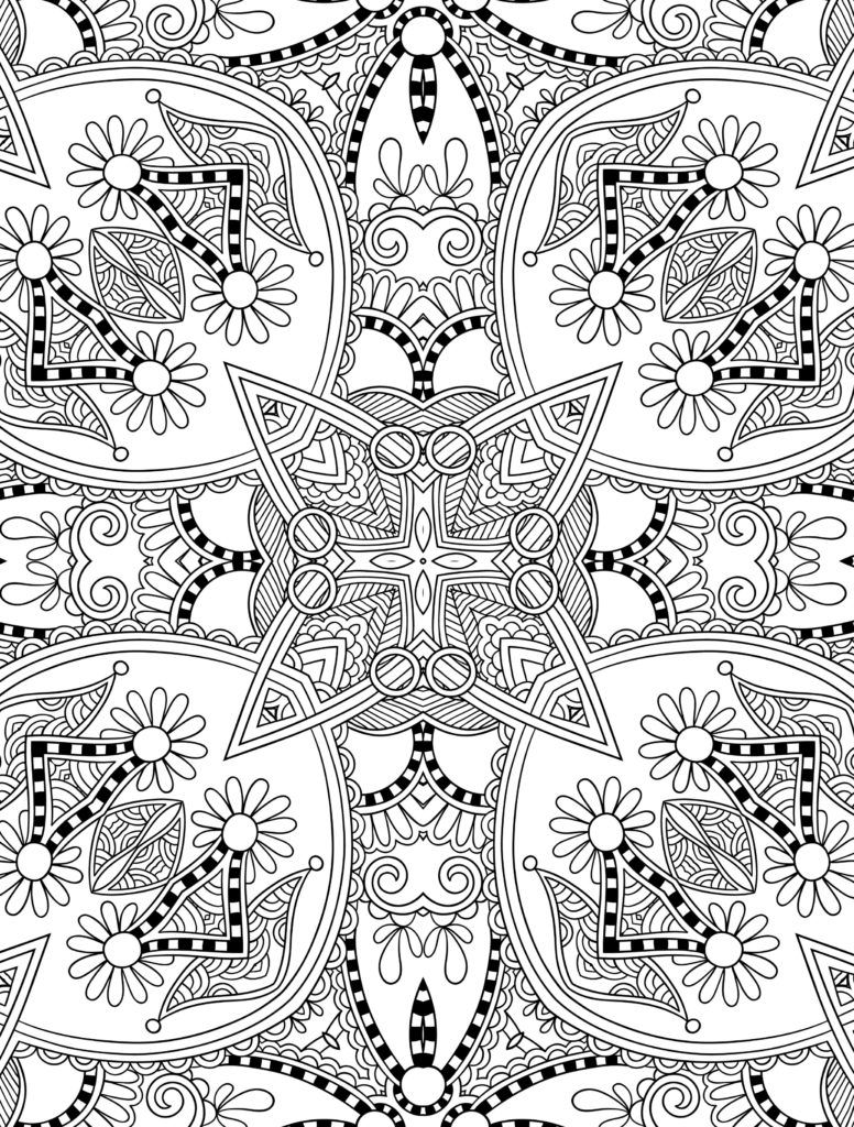 Detailed Landscape Coloring Pages For Adults 31