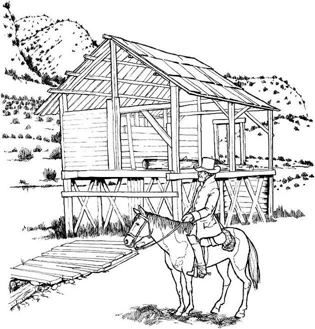 Detailed Landscape Coloring Pages For Adults 36