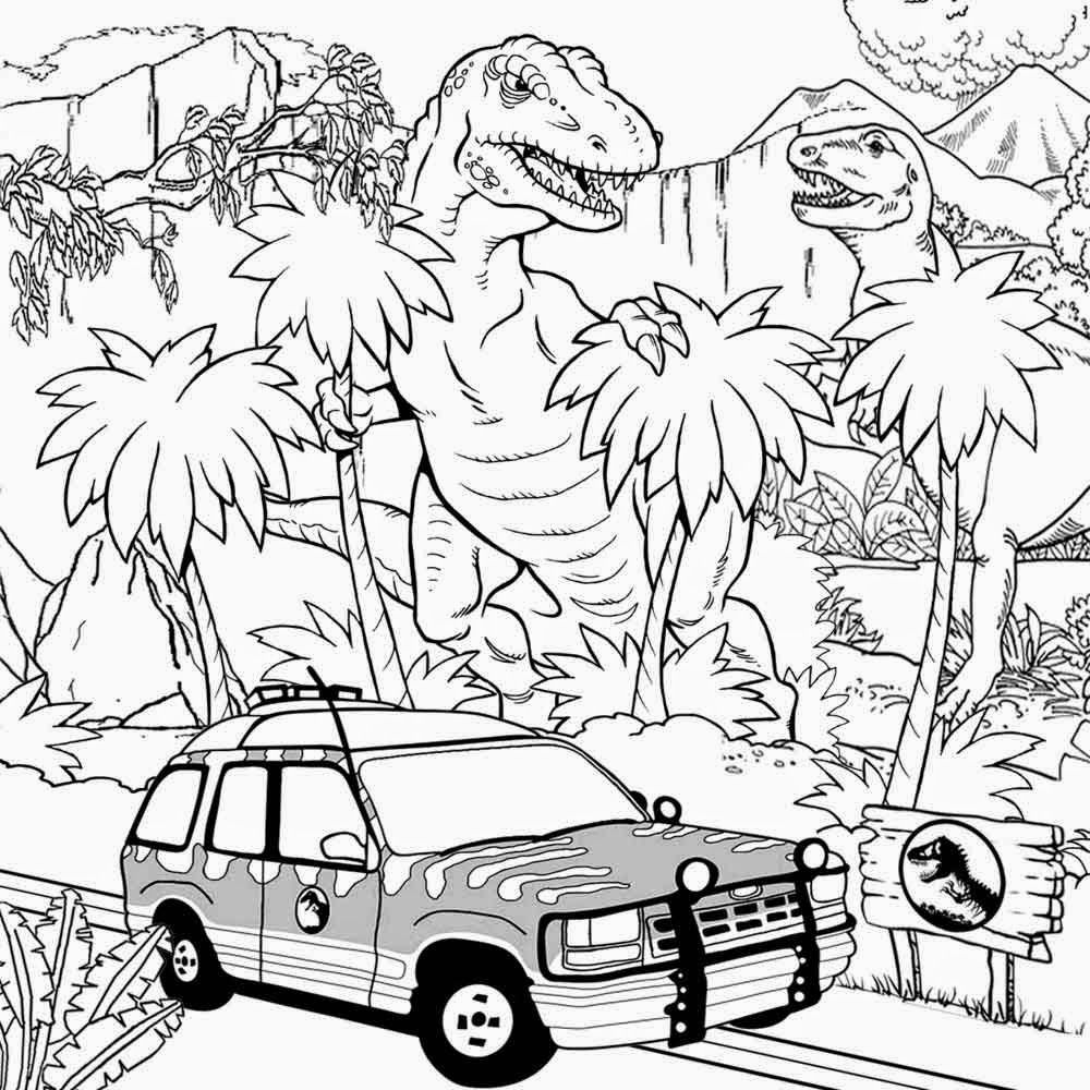 Detailed Landscape Coloring Pages For Adults 52
