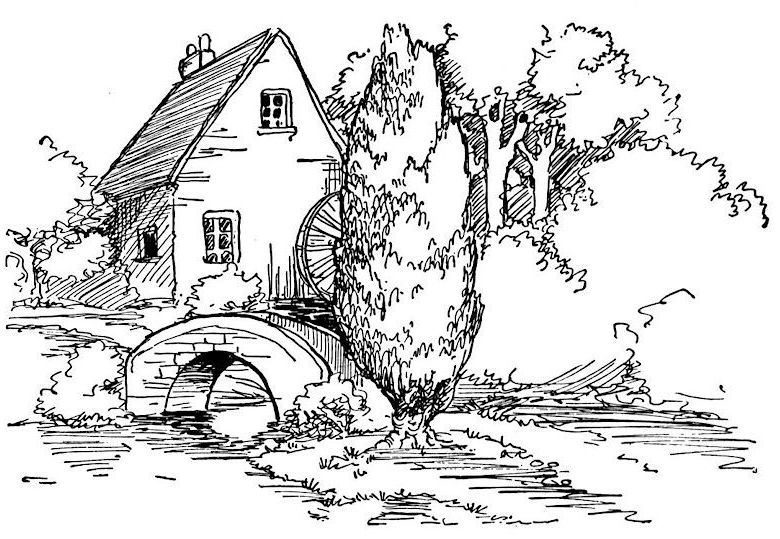 Detailed Landscape Coloring Pages For Adults - Part 7