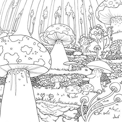 Detailed Landscape Coloring Pages For Adults 66