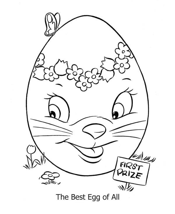 Easter Egg Colouring Pages 103