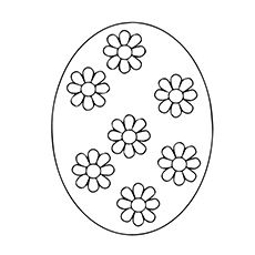 Easter Egg Colouring Pages 104