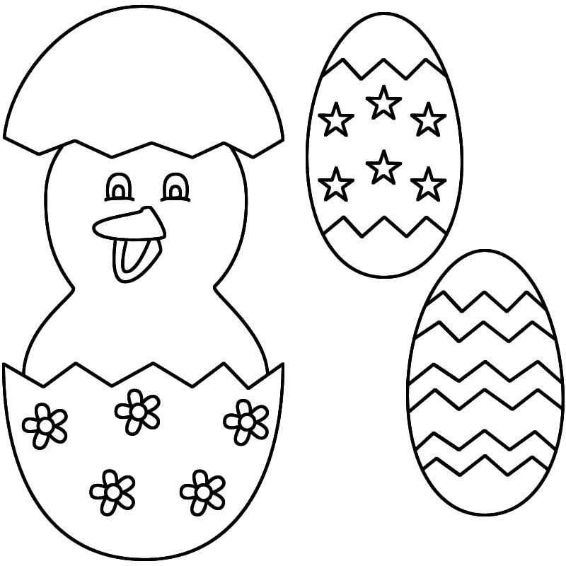 Easter Egg Colouring Pages 105