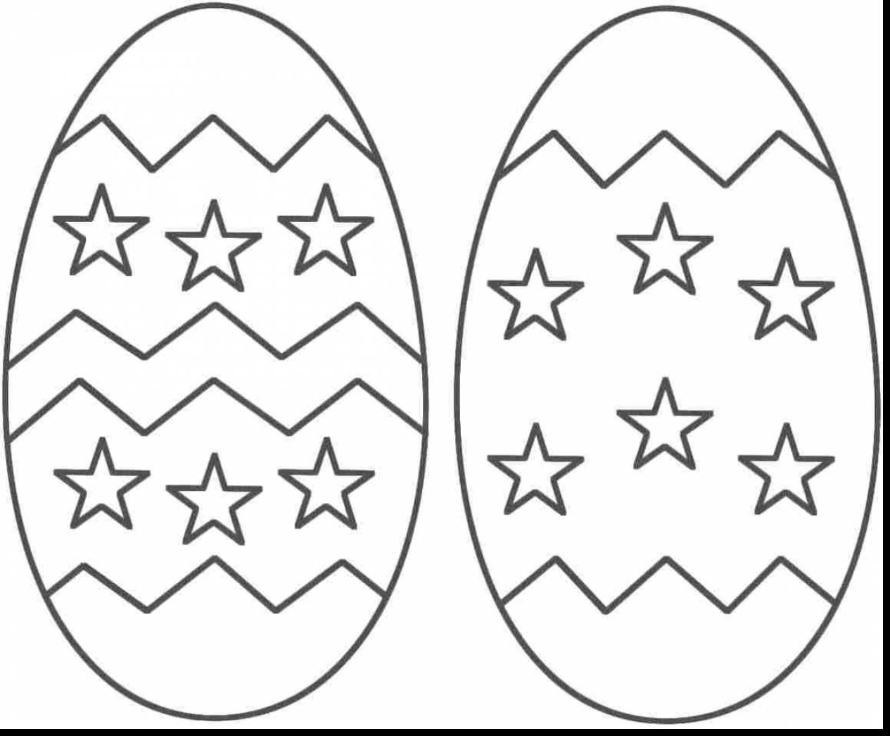 Easter Egg Colouring Pages 106