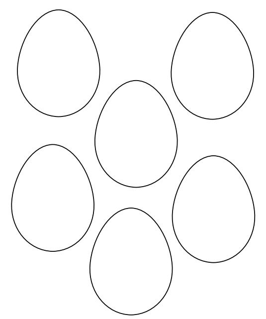 Easter Egg Colouring Pages 109