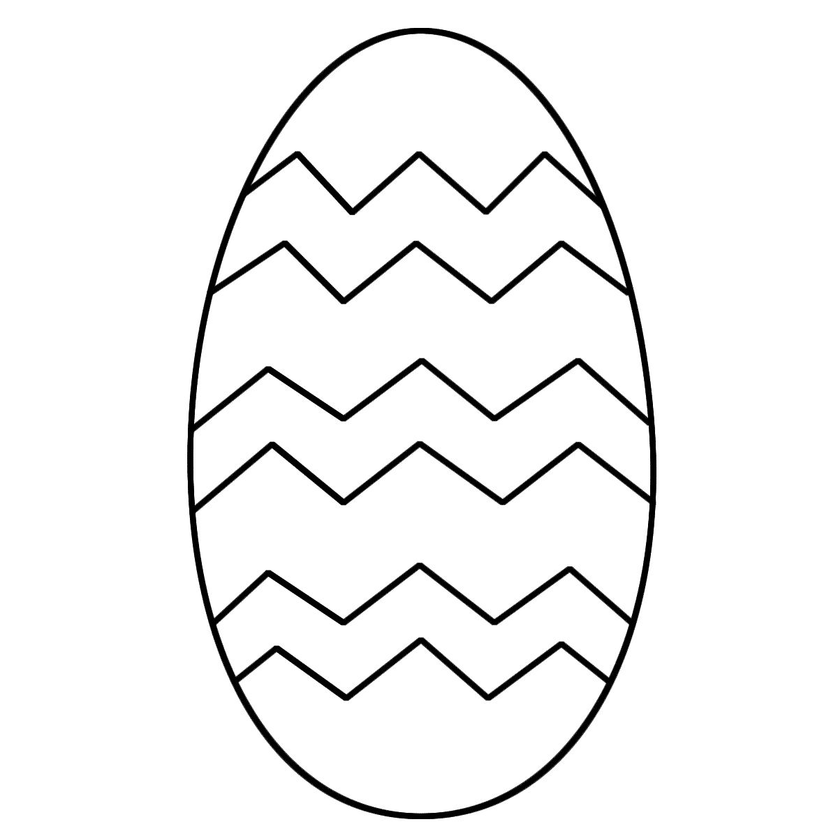 Easter Egg Colouring Pages 110