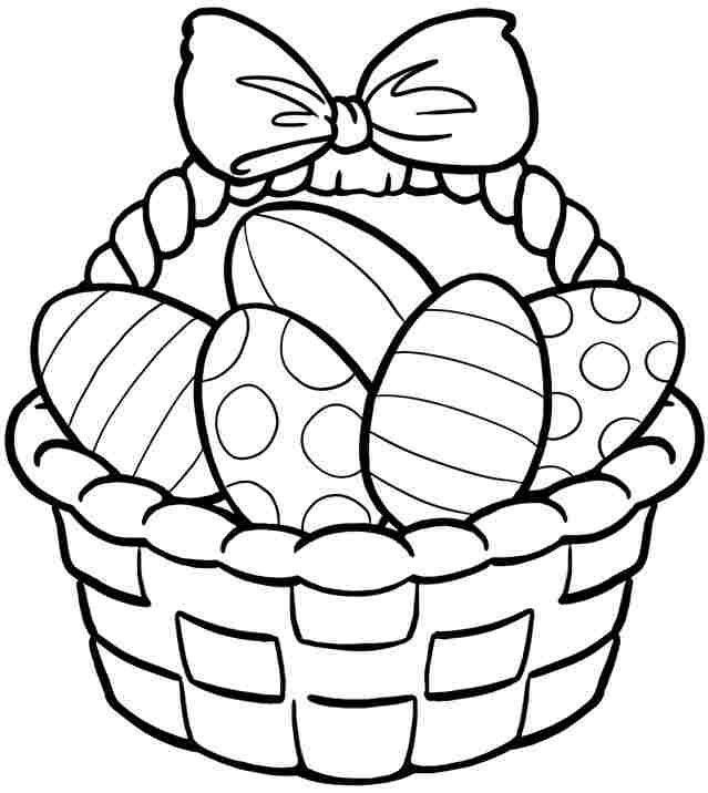 Easter Egg Colouring Pages 111