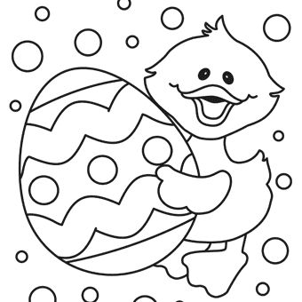 Easter Egg Colouring Pages 117